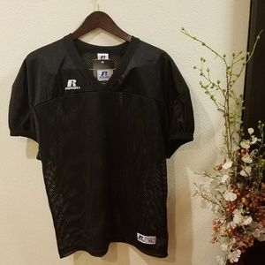 Russell Athletic Black Football Practice Jersey XL